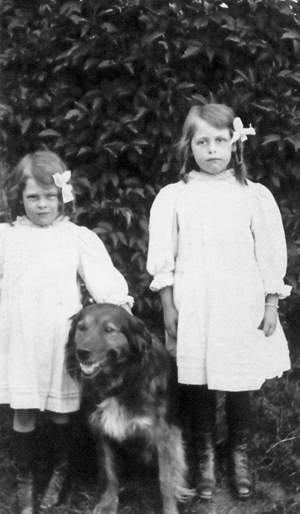 Elsie and Doris Kimber.
